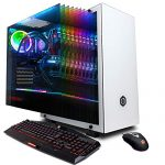 CYBERPOWERPC Gamer Supreme Liquid Cool SLC10220CPG Gaming PC (Intel i9-9900K 3.6GHz, 16GB DDR4, NVIDIA GeForce RTX 2080 8GB,