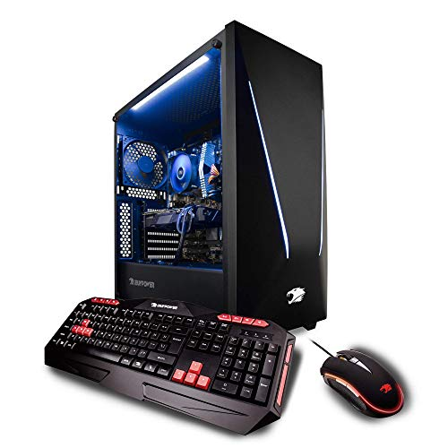 iBUYPOWER Elite Gaming PC Computer Desktop Trace 062A (AMD Ryzen 7 2700X 3.7GHz, NVIDIA Geforce RTX 2060 6GB,
