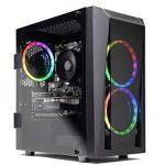 SkyTech Blaze II Gaming Computer PC Desktop – Ryzen 5 2600 6-Core 3.4 GHz, NVIDIA GeForce GTX 1660 TI 6G,