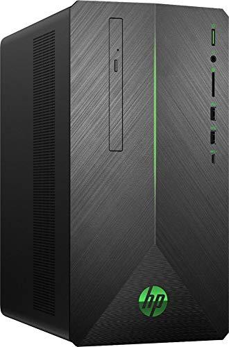 2019 HP Pavilion Gaming Desktop | AMD 2nd Gen Ryzen 7 | 512G SSD+1TB HDD | 32GB | AMD Radeon RX 580 | WiFi | USB-C | DVD-RW | GbE LAN | Windows 10 | Include Mouse and Keyboard