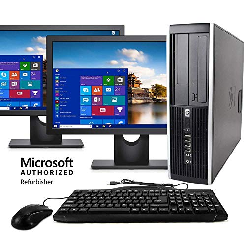 Desktop Computer Package Compatible With HP Elite Intel Quad Core i5 3.2GHz, 8GB RAM, 1TB Hard Drive,