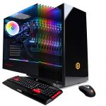 CYBERPOWERPC Gamer Xtreme VR Gaming PC, Liquid Cool Intel Core i9-9900K 3.6GHz, NVIDIA GeForce RTX 2070 Super 8GB,