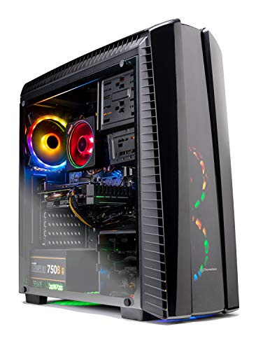 SkyTech Shadow II Gaming Computer PC Desktop – Ryzen 7 2700 8-Core 3.2 GHz, NVIDIA GeForce RTX 2060 6G,