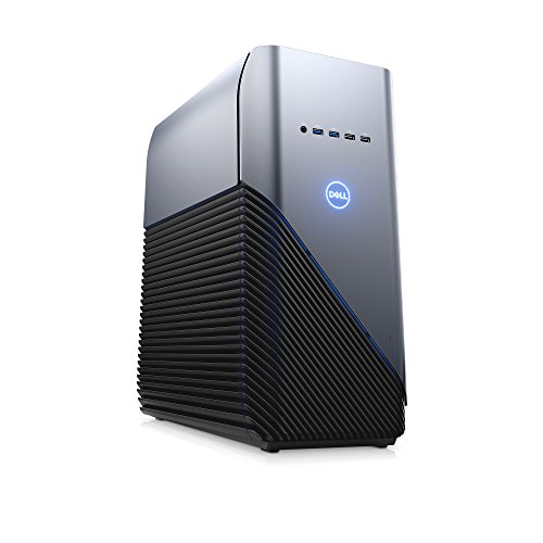Dell i5680-5414BLU-PUS Inspiron Gaming Desktop 5680, Intel Core i5 8400 (6-Core/6-Thread, 9MB Cache, up to 4GHz w/Intel TB Technology),