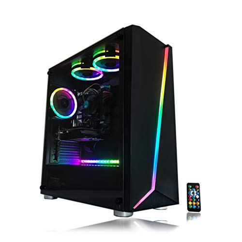 Gaming PC Desktop Computer Intel i5 3.10GHz,8GB Ram,1TB Hard Drive,Windows 10 pro,WiFi Ready,Video Card Nvidia GTX 650 1GB,