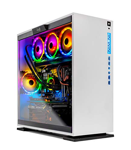 SkyTech Omega Gaming Computer PC Desktop – Intel i9-9900K 3.6GHz, 360mm AIO Liquid Cool, NVIDIA GeForce RTX 2070 Super 8G,