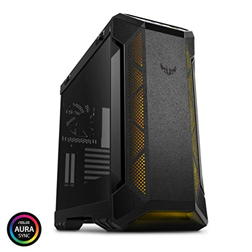 ASUS TUF Gaming GT501 Mid-Tower Computer Case for up to EATX Motherboards with USB 3.0 Front Panel Cases GT501/GRY/WITH Handle
