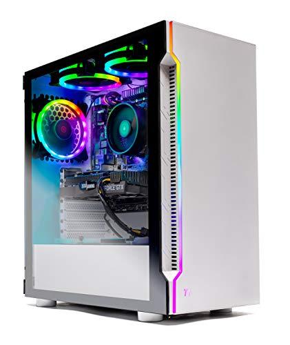 Skytech Archangel Gaming Pc PC Desktop – RYZEN 5 2600X 6-Core 3.6 GHz, GTX 1660 6G, 500GB SSD, 16GB DDR4 3000MHz, RGB Followers, Windows 10 Dwelling
