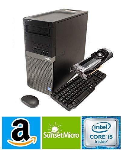 Dell Optiplex 9020 Tower Computer Gaming Desktop (Intel Core i5, 16GB Ram, 2TB HDD + 120GB SSD, WiFi, Bluetooth, HDMI) 4K Nvidia Geforce GT 730 4GB Graphics Windows 10 (Renewed)
