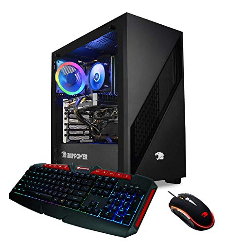 iBUYPOWER Elite Gaming PC Computer Desktop 130A (AMD Ryzen 7 3700X 3.6 GHz, NVIDIA RTX 2070 8GB, 16GB DDR4 RAM, 1TB SSD, WiFi Ready, Home windows 10 Home)