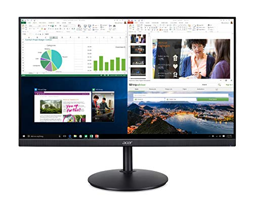 Acer CB272 bmiprx 27″ Chunky HD (1920 x 1080) IPS Zero Frame Home Location of commercial Tune with AMD Radeon FreeSync – 1ms VRB, 75Hz Refresh,
