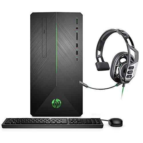 HP Pavilion VR Ready Gaming Desktop, Core i5-9400F, GTX 1660 Ti 6GB GDDR6, 32GB RAM, 256GB SSD+1TB HDD, Hexa-Core up to 4.10 GHz, RJ-45 LAN,