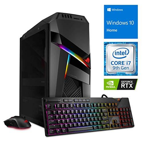 ASUS GL12CX Gaming Desktop, Intel Core i7-9700F Upto 4.7GHz, 16GB RAM, 256GB NVMe SSD + 1TB HDD, NVIDIA GeForce RTX 2060, DIsplayPort, HDMI, Card Reader,