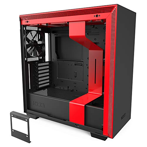NZXT H710 – CA-H710B-BR – ATX Mid Tower PC Gaming Case – Front I/O USB Form-C Port – Instant-Beginning Tempered Glass Facet Panel – Cable Administration Design –