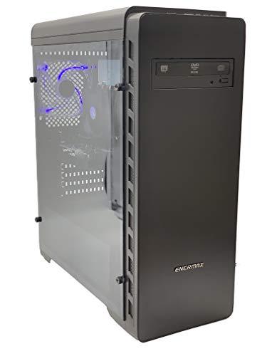 AVGPC MAX Gaming PC AMD RYZEN 3 1200 4-Core 3.1 GHz (3.4 GHz Turbo), 8GB DDR4, GeForce GTX 1050 2GB, 240GB SSD, WiFi, Favor 10 Pro