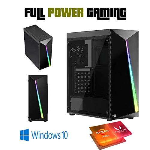AMD Quad CORE Most up-to-date GEN Gaming Desktop Custom Machine Ryzen 3 3200G Vega 8 3.6 GHz 12 Core SSD VR BUGDET Favorite Gaming LED Tower Windows 10 Keep of job 2016