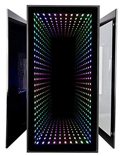 CUK Continuum Mini Gaming PC (Liquid Cooled Intel Core i9-9900KF, 32GB RAM, 1TB NVMe SSD + 1TB SSD, NVIDIA GeForce RTX 2080 Tremendous, 650W Gold PSU,