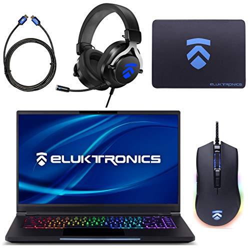 "Eluktronics MAG-15 Slim & Ultra Light NVIDIA GeForce RTX 2070 Gaming Pc with Mechanical RGB Keyboard – Intel i7-9750H CPU 8GB GDDR6 VR Ready GPU 15.6"" 144Hz Beefy HD IPS 2TB NVMe SSD + 64GB RAM"