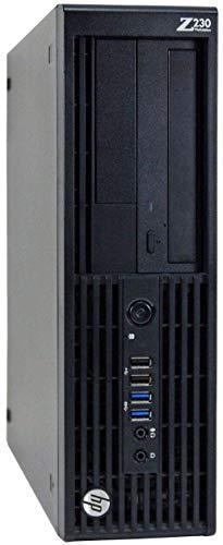 HP Z230 Workstation Gaming Computer Desktop, Intel Core i5-4590, 8GB DDR3 RAM, 240GB SSD & 2TB HDD, USB 3.0, NVIDIA GeForce GT 1030 2GB, HDMI,