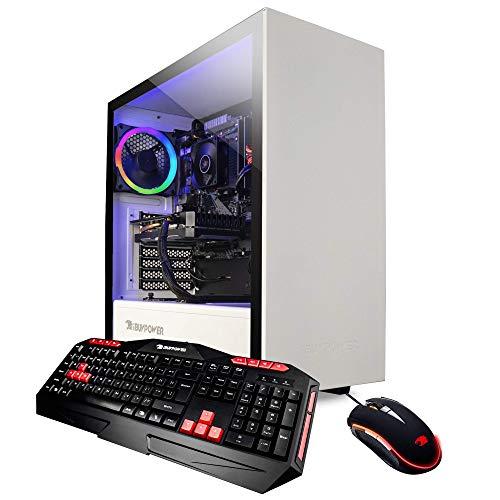 iBUYPOWER Elite Gaming PC Computer Desktop ARCW 105A (AMD Ryzen 7 3700X 3.6GHz, NVIDIA GeForce GTX 1660 6GB, 16GB DDR4, 240GB SSD, 1TB HDD, WiFi &