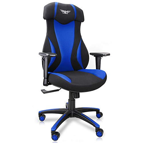 Gaming Chair, Acethrone 2020 Contemporary Living of enterprise Chair, Desk Chair PC Gaming Chair with Lumbar Give a select to, Headrest and Armrest Laptop Gaming Chair