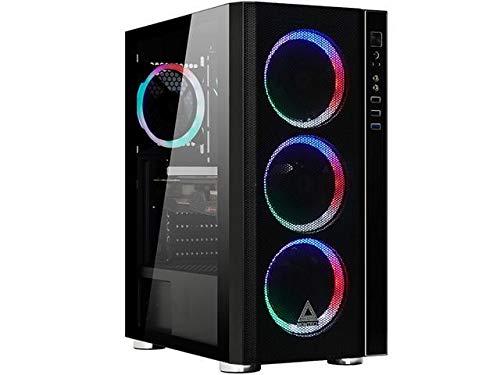 Gaming Desktop – 9th Gen Core 9100F 3.6GHz Quad-Core CPU, 16GB DDR4 RAM, GTX 1650 Tall 4GB GDDR6 Graphics, 480GB SSD