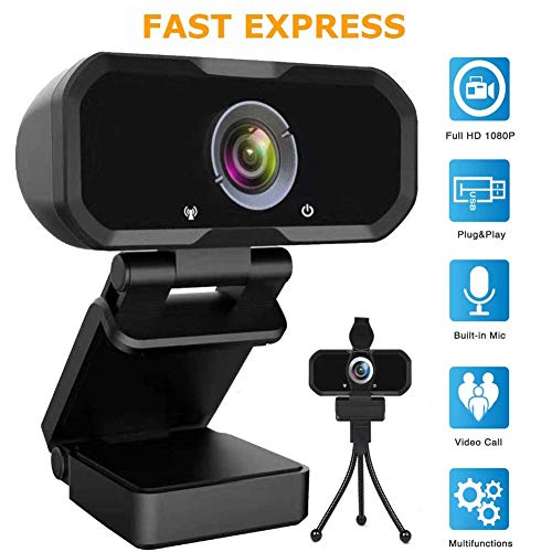 Webcam 1080p HD Pc Digicam – Microphone Pc computer USB PC Webcam, HD Beefy Gaming Pc Digicam, Recording Knowledgeable Video Web Digicam for Calling, Conferencing,