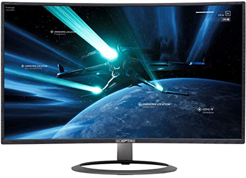Sceptre 32-lunge Twisted Gaming Display screen as much as 185Hz 165Hz 144Hz 1920×1080 AMD FreeSync HDMI DisplayPort Carry out-in Speakers, Machine Sad 2020 (C326B-185RD)