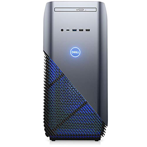 Dell Inspiron 5680 Gaming Desktop Computer with Intel i7-8700, 8GB DDR4 + 16GB Optane RAM,  1TB 7200rpm HDD, DVDRW, GeForce GTX 1060 3GB, 802.11AC WiFi &