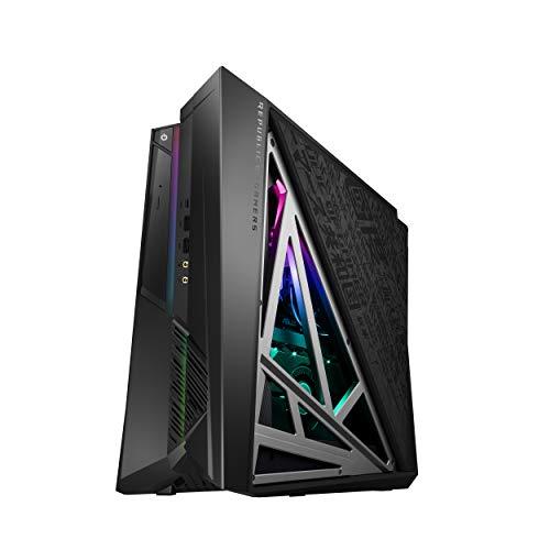 ROG Huracan G21 Compact Gaming Desktop, Unlocked Intel Core i7-9700K Processor, NVIDIA GeForce RTX 2060, 16GB 2666Mhz RAM, 512GB PCIe SSD + 1TB HDD, Wi-Fi 5,
