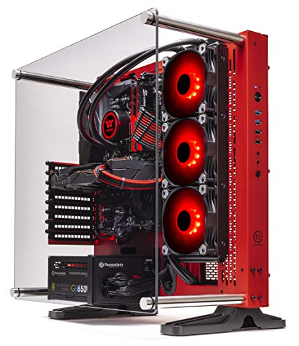 Thermaltake LCGS Wraith AIO Liquid Cooled CPU Gaming PC (AMD Ryzen 5 3600X 3.8GHz, DDR4 3200MHz 16GB RGB Memory, NVIDIA GeForce RTX 2060 Desirable 8GB,