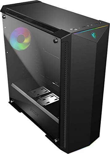 MSI Top rate Mid-Tower PC Gaming Case – Tempered Glass Aspect Panel – RGB 120mm Fan – Liquid Cooling Toughen as much as 420mm Radiator x 1 – Cable Management Machine – MPG GUNGNIR 100