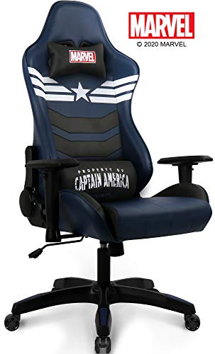 Marvel Avengers Gaming Chair Desk Arena of commercial Laptop Racing Chairs – Recliner Adults Gamer Ergonomic Sport Reclining Excessive Wait on Give a boost to Racer Leather Rocker