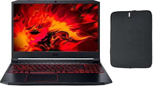 Acer Nitro 5 15.6″ FHD IPS Gaming Laptop pc w/ Woov Sleeve, Intel Quad-Core i5-10300H, 12GB RAM, 1TB PCIe SSD, NVIDIA GeForce GTX 1650 4GB,