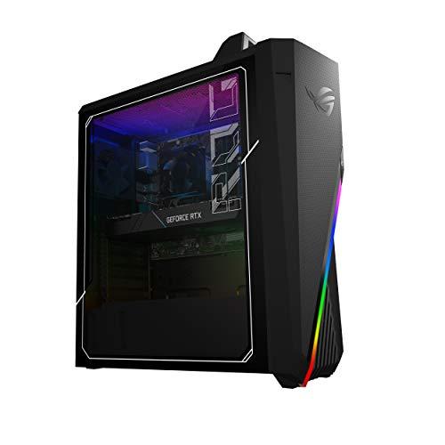 ROG Strix GA15DH Gaming Desktop PC, AMD Ryzen 7 3700X, AMD Radeon 5700XT Graphics, 16GB DDR4 RAM, 512GB PCIe SSD + 1TB HDD, Wi-Fi 5,