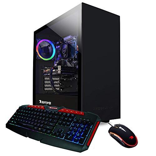 iBUYPOWER Knowledgeable Gaming PC Computer Desktop ARCB 108Av2 (AMD Ryzen 3 3100 3.6GHz, NVIDIA GT 710 1GB, 8GB DDR4 RAM, 1TB HDD, WiFi Ready, Dwelling windows 10 Dwelling)