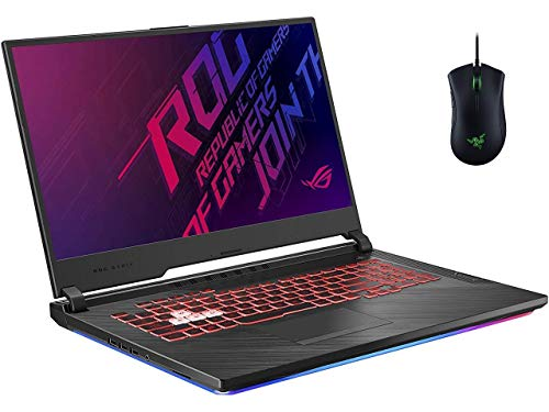 ASUS ROG Strix G 17.3 FHD High Performance Gaming Pc Woov RGB Gaming Mouse | Intel Six Core i7-9750H | 16GB RAM | 512GB SSD +1TB HDD | NVIDIA GTX 1650 | Backlit Keyboard | Home windows 10