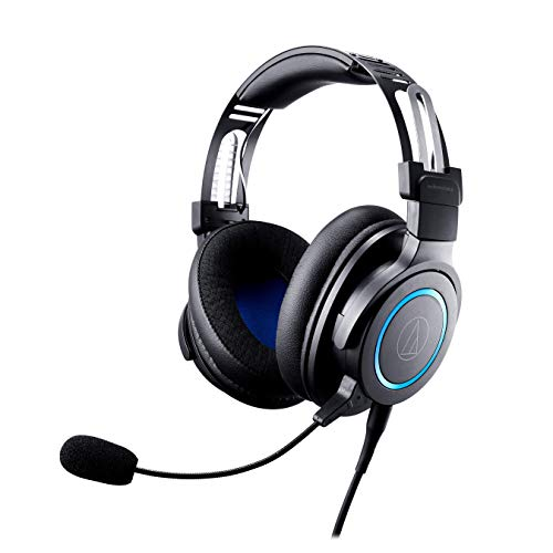 Audio-Technica ATH-G1 Top rate Gaming Headset for PS4, Xbox One, Laptops, and PCs, with 3.5 mm Wired Connection, Removable Mic