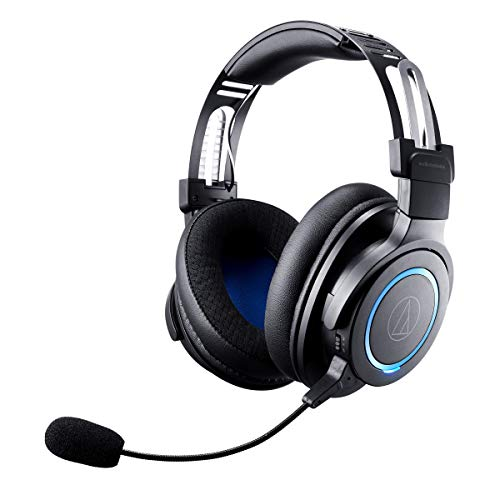 Audio-Technica ATH-G1WL Top payment Wireless Gaming Headset for Laptops, PCs, Macs, 2.4GHz, 7.1 Encompass Sound Mode, USB Kind-A, Dusky, Adjustable