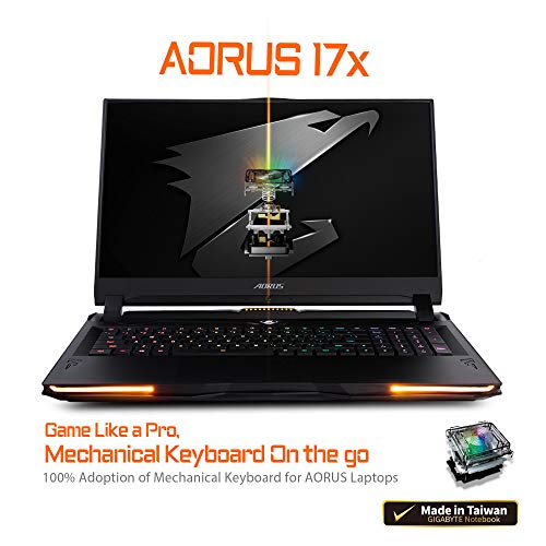 [2020] AORUS 17X (YB) Indecent Gaming Notebook computer, Lightest+Coolest in Class, 17.3-lumber 300Hz IPS, GeForce RTX 2080 Gigantic Max-P, Intel i7-10875H, 32GB DDR4, 1TB NVMe SSD + 2TB 7200rpm HDD,