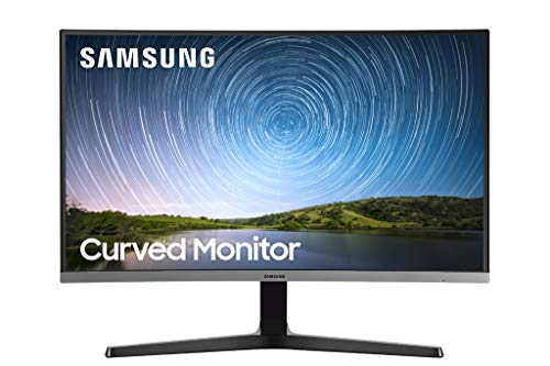 Samsung 27-Amble CR50 Frameless Crooked Gaming Video show (LC27R500FHNXZA) – 60Hz Refresh, Laptop Video show, 1920 x 1080p Resolution, 4ms Response, FreeSync, HDMI,Sunless