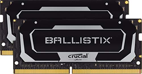 Main Ballistix 3200 MHz DDR4 DRAM Laptop Gaming Memory Kit 32GB (16GBx2) CL16 BL2K16G32C16S4B