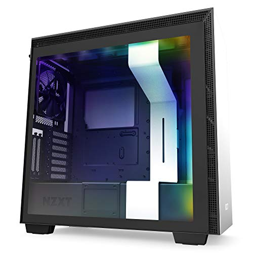 NZXT H710i – CA-H710 i-W1 – ATX Mid Tower PC Gaming Case – Entrance I/O USB Form-C Port – Lickety-split-Starting up Tempered Glass Aspect Panel –