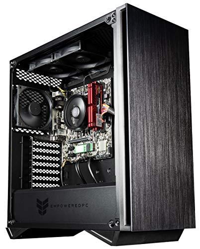 Empowered PC Sentinel Gamer PC (AMD Ryzen 3 3200G, 16GB DDR4 3000MHz RAM, 256GB NVMe SSD, 500W PSU, AC WiFi, No OS) Tower Gaming Desktop Computer