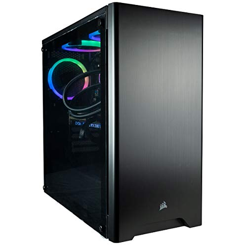CUK Sentinel Black Gaming PC (Liquid Cooled Intel i9-9900KF, 32GB RAM, 512GB NVMe SSD + 2TB HDD, NVIDIA GeForce RTX 2080 Huge 8GB, 750W Gold PSU,