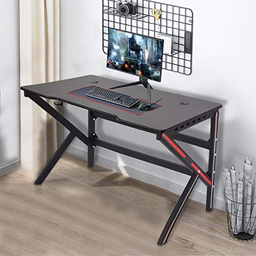 (US Shipped) Gaming Desk, 47.2″ Gigantic Home Situation of enterprise Pc Table, Sturdy Gloomy Gamer Workstation, Gigantic Pc Desk, Writing Desk for Home Situation of enterprise