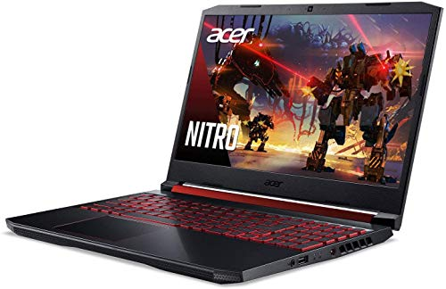 2020 Top rate Acer Nitro 5 15 Gaming Laptop 15.6 walk Fat HD IPS 9th Gen Intel 4-Core i5-9300H(i7-7700HQ) 16GB DDR4 1TB PCIe SSD 1TB HDD 4GB GTX 1650 Backlit KB Snatch 10 + iCarp Wireless Mouse