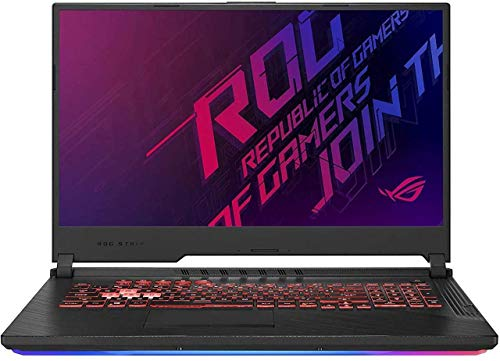 ASUS ROG Strix G 17.3 FHD Excessive Performance Gaming Notebook computer | Intel Six Core i7-9750H | 16GB RAM | 1TB SSD | NVIDIA GTX 1650 | Backlit Keyboard | Home windows 10 (Renewed)