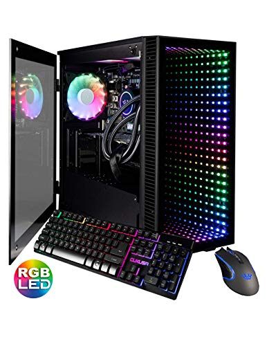 CUK Continuum Micro Gamer PC (Intel i9-9900KF with Liquid Cooling, 32GB RAM, 1TB NVMe SSD + 2TB HDD, NVIDIA GeForce RTX 2080 Ti 11GB, 750W Gold PSU,