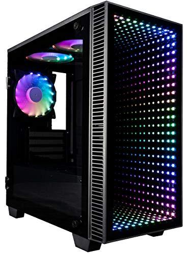 CUK Continuum Micro Gamer PC (Liquid Cooled Intel Core i9 K-Sequence, 64GB RAM, 1TB NVMe SSD + 2TB HDD, NVIDIA GeForce RTX 3090 24GB, 850W PSU,